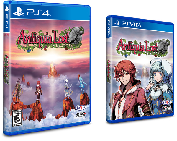 Antiquia Lost for PlayStation®
